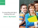 Video Từ vựng tiếng Anh lớp 6 - Unit 3: My Friend - HocHay