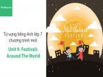 Video Từ vựng tiếng Anh lớp 7 - Unit 9: Festivals around the World - Học Hay