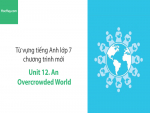 Video Từ vựng tiếng Anh lớp 7 - Unit 12: An Overcrowded World - Học Hay