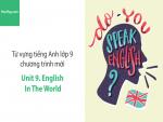 Video Từ vựng tiếng Anh lớp 9 - Unit 9: English in the World - Học Hay