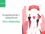 Video Từ vựng tiếng Anh lớp 11 - Unit 2: Relationships - Học Hay
