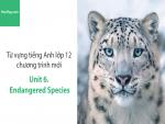 Video Từ vựng tiếng Anh lớp 12 - Unit 6: Endangered Species - Học Hay