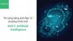 Video Từ vựng tiếng Anh lớp 12 - Unit 7: Artificial Intelligence - Học Hay