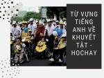 Từ vựng tiếng Anh về Khuyết tật - HocHay