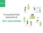 Video Từ vựng tiếng Anh lớp 8 - Unit 1: Leisure Activities - Học Hay