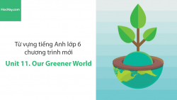 Video Từ vựng tiếng Anh lớp 6 - Unit 11: Our Greener World - Học Hay