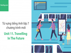 Video Từ vựng tiếng Anh lớp 7 - Unit 11: Travelling in the Future - Học Hay