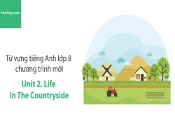 Video Từ vựng tiếng Anh lớp 8 - Unit 2: Life in the Countryside - Học Hay