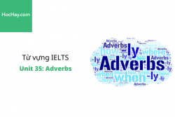 Sách Từ vựng IELTS – Unit 35: Adverbs – Học Hay