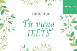Tổng hợp từ vựng IELTS – Học Hay