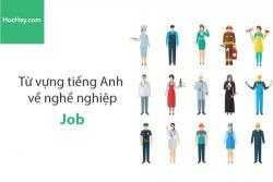 Từ vựng tiếng Anh về nghề nghiệp (Job) - HocHay