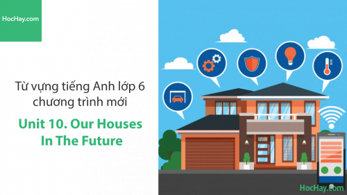 Video Từ vựng tiếng Anh lớp 6 - Unit 10: Our Houses in the Future - Học Hay