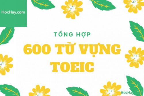 600 Từ vựng TOEIC – Học Hay