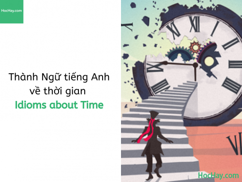 Thành Ngữ tiếng Anh về thời gian (Idioms about Time)